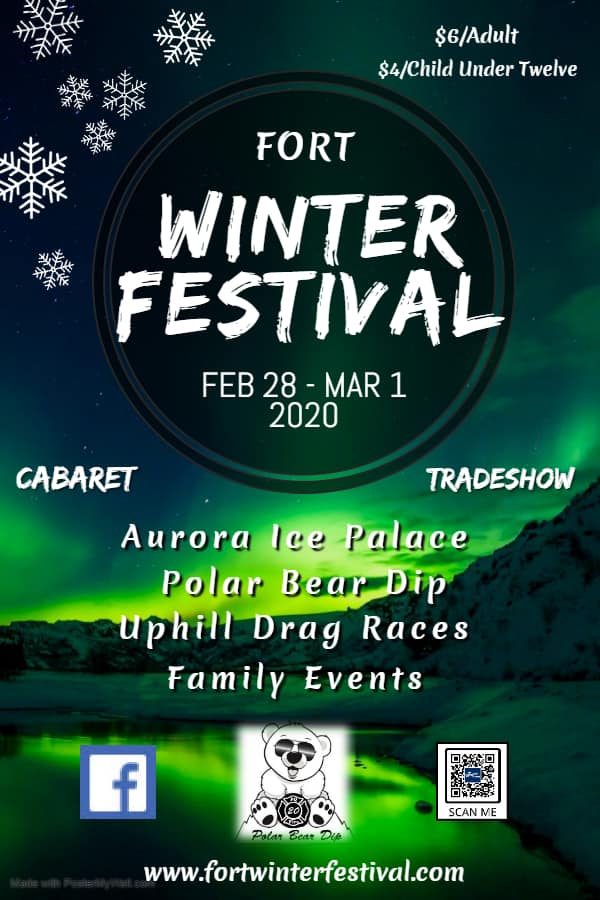 New this year is the Aurora Ice Palace that will be set up right outside of The Fort!